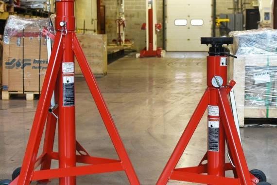 axle support stands