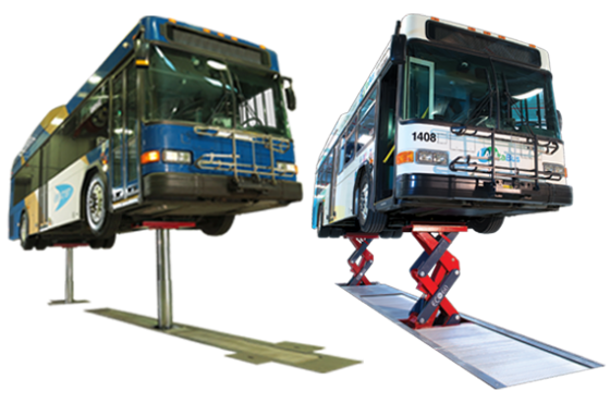 Heavy Duty Hydraulic Vehicle Lifts | Stertil-Koni USA