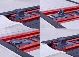 Adapters for Stertil-Koni Heavy Duty Inground Scissor Lift
