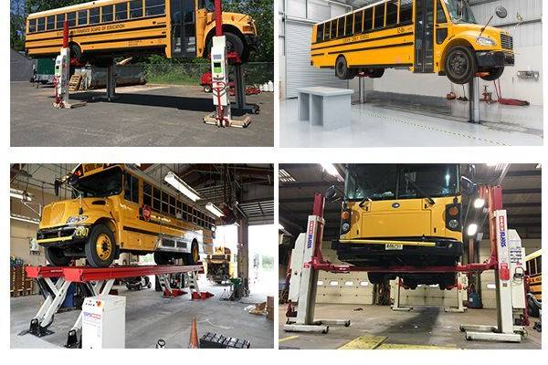 School bus lifts