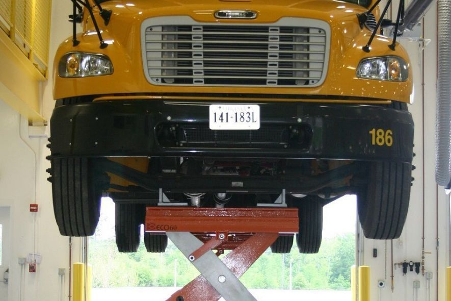 Heavy Duty Hydraulic Bus Lift for Pupil Transportation