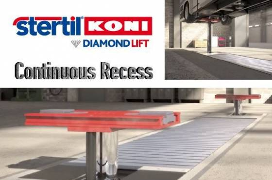 Continuous Recess on DIAMONDLIFT