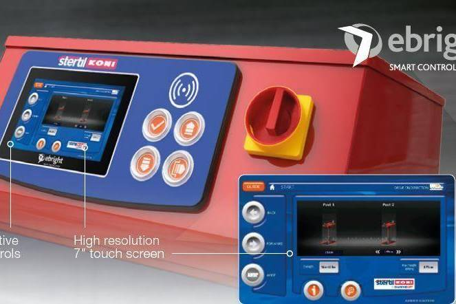 The ebright Smart Control System is now available on the inground piston DIAMONDLIFT, mobile column lifts, ECOLIFT