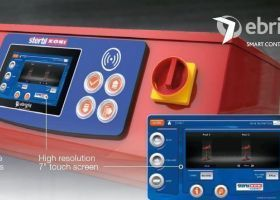 Stertil-Koni Heavy Duty Inground Lift DIAMONDLIFT Touchscreen Control