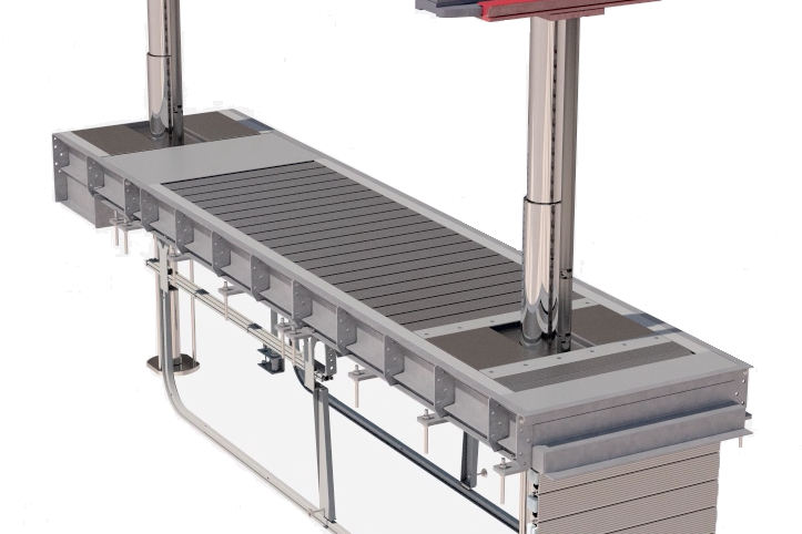 Stertil-Koni Continuous Recess System, inground lifts, DIAMONDLIFT