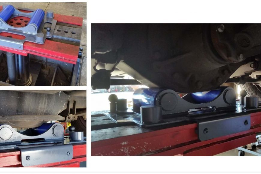 differential adapter, inground lifts, DIAMONDLIFT, stertil-koni, heavy duty vehicle lifts