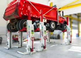Stertil-Koni Heavy Duty Truck Lifts Mobile Column Lift EARTHLIFT