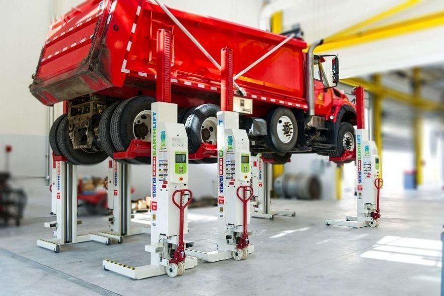 Stertil-Koni Heavy Duty Hydraulic Truck Lifts Mobile Column Lifts