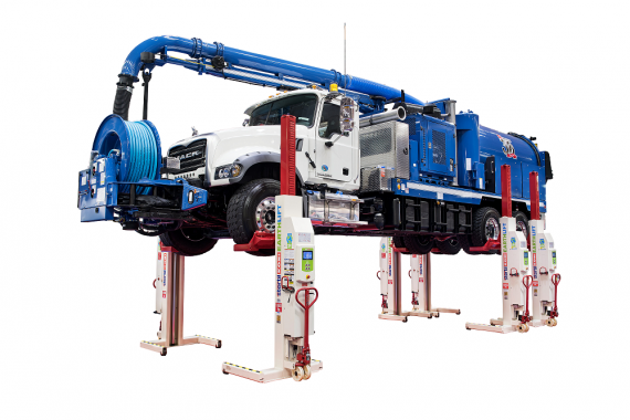 Earthlift, mobile column lifts, Stertil-Koni