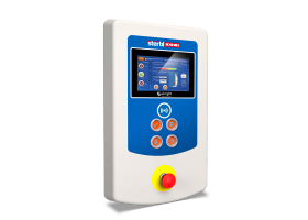 Stertil-Koni Heavy Duty Mobile Column Lift touchscreen control eBright