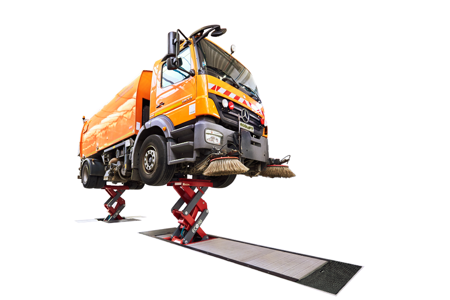 Hydraulic Truck Lifts - Inground Scissor ECOLIFT
