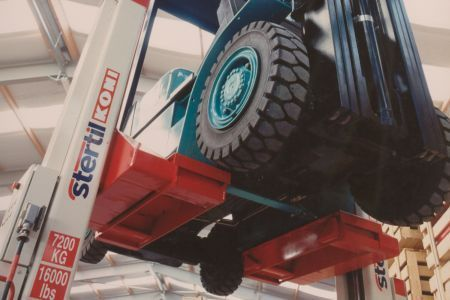 Stertil-Koni Heavy Duty Forklift Adapter