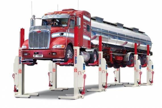 mobile column lifts, portable columns, Stertil-Koni