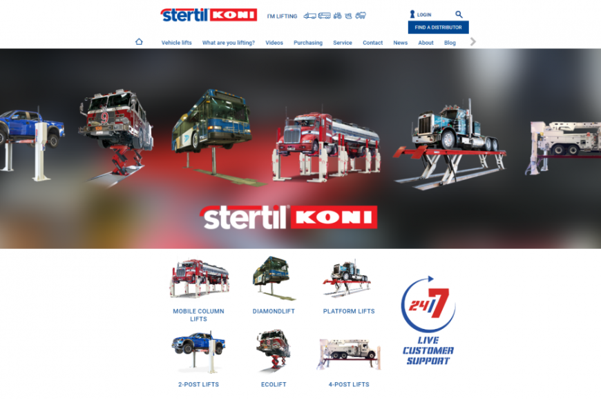 Stertil-Koni Debuts New Company Website