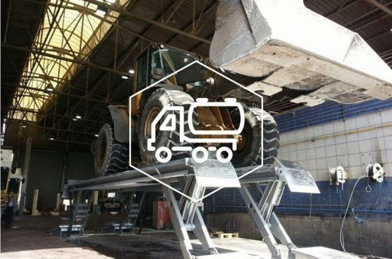 Stertil-Koni Heavy Duty Construction Vehicle Lift