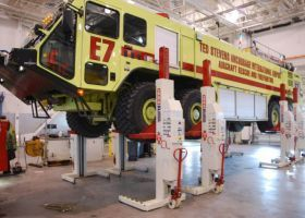 Stertil-Koni Heavy Duty Lifts for Ground Support Equipment
