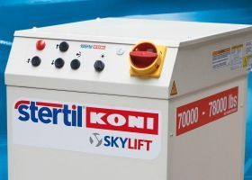 Stertil-Koni Control Console for Heavy Duty Hydraulic Platform Lift
