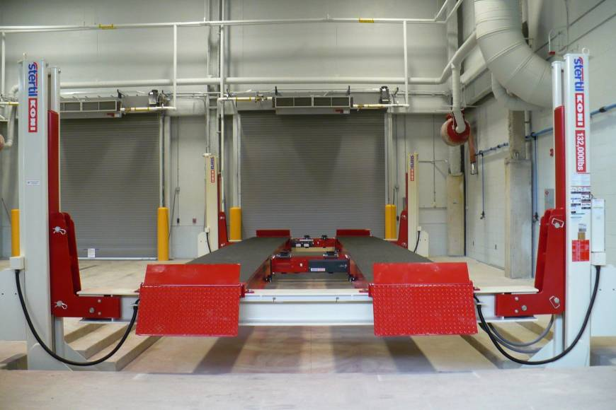Stertil-Koni ST 4600, 4-post lift, stertil-koni, heavy duty vehicle lifts