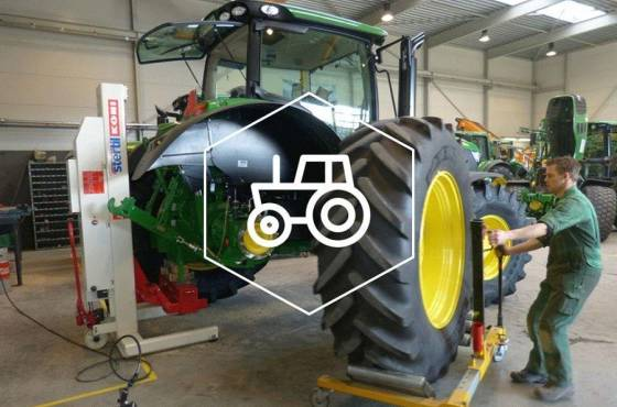 agriculture, mobile column lifts, stertil-koni, Multipurpose adapters
