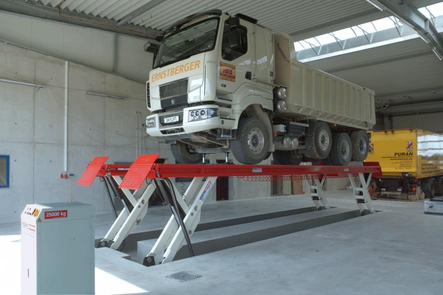 Hydraulic Truck Lifts   Stertil-Koni USA