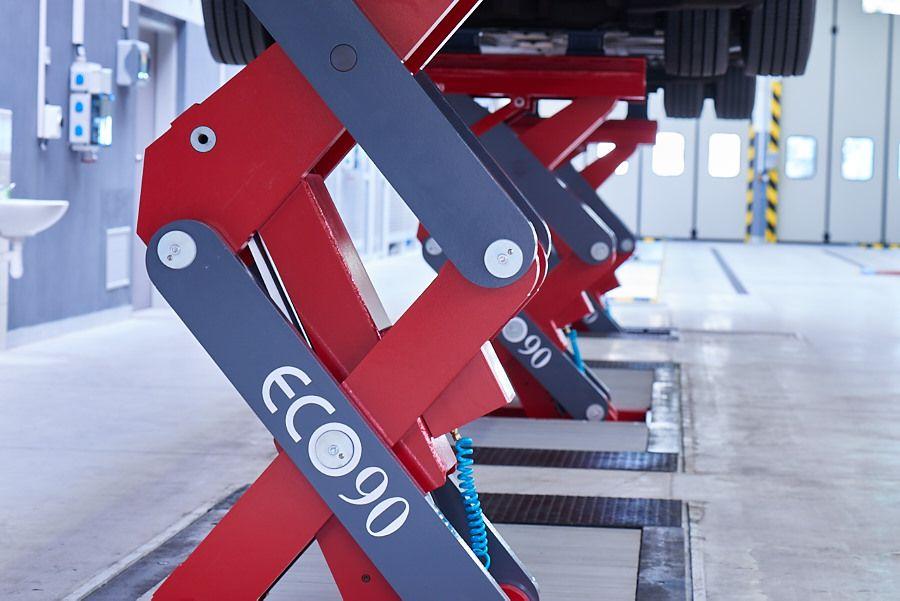 Inground Scissor ECOLIFT   Stertil-Koni USA