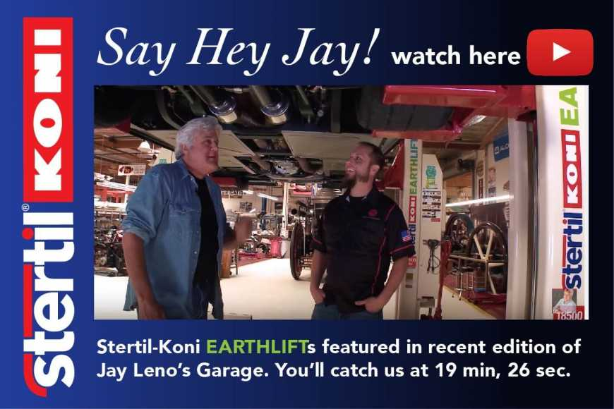 Jay Leno's Garage EARTHLIFT