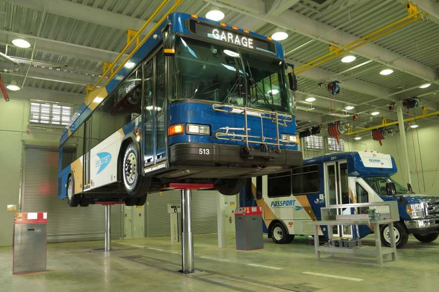 Infrastructure, federal government, Stertil-Koni, heavy duty vehicle lifts