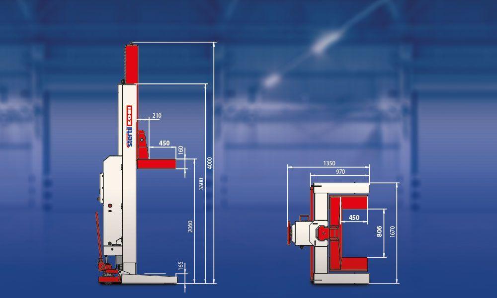 Mobile Column Lifts Stertil Koni Usa